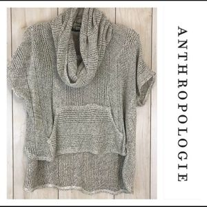 Anthro Saturday Sunday Cowl Neck Popover Sweater